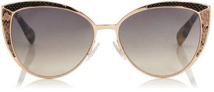 Jimmy-Choo-DOMI-Metal-Framed-Cat-Eye-Sunglasses-Snakeskin