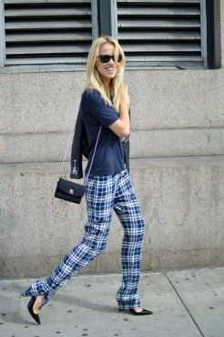la-modella-mafia-model-off-duty-street-style-Elin-Kling-in-Joseph-pants-Manolo-pumps-Chanel-bag-Balenciaga-jacket1