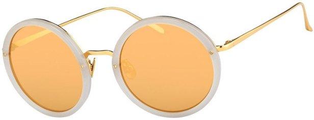 Linda-Farrow-Trimmed-Round-Mirrored-Sunglasses-999