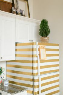 diy-washi-tape-fridge-washi-tape-decor-the-every-girl-home-tour