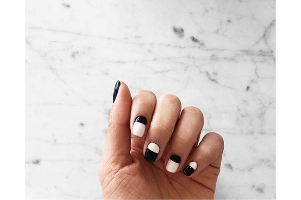 makeup-looks-nail-ideas-2016-04-nail-art-monochromatic-color-block