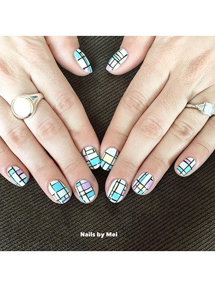 makeup-looks-nail-ideas-2016-04-nail-art-pastel-mondrian-print