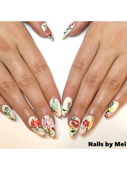 makeup-looks-nail-ideas-2016-04-nail-art-vintage-floral